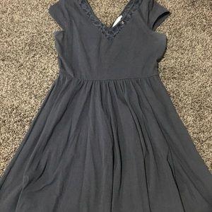 Navy Lauren Conrad dress